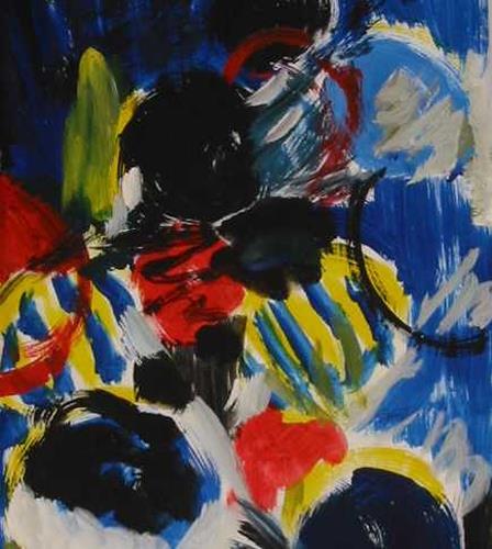 Petra Tränkner, Inspiration1, Abstract art