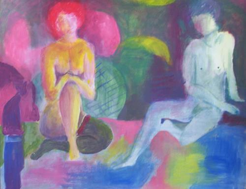 Petra Tränkner, Im Salon, Miscellaneous Erotic motifs