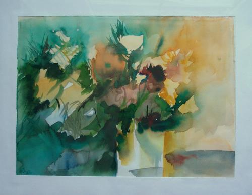 Petra Tränkner, o.T., Plants: Flowers