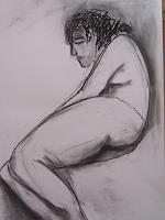 Petra-Traenkner-Erotic-motifs-Female-nudes-Contemporary-Art-Contemporary-Art