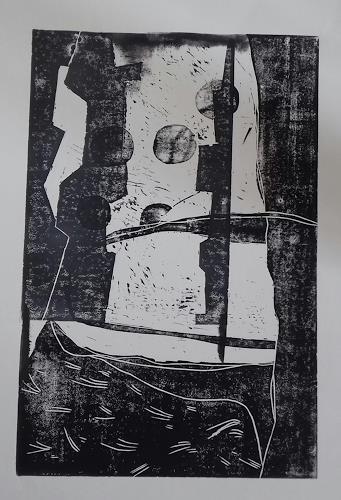 Petra Tränkner, Variationen I, Abstract art, Abstract Art