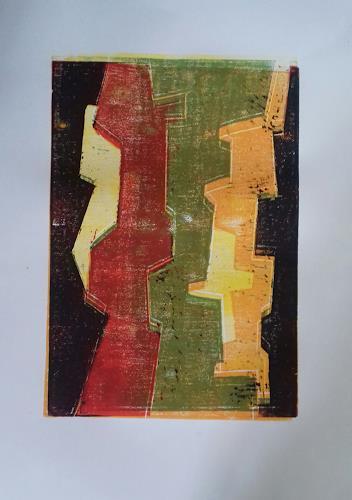 Petra Tränkner, 0.T, Abstract art, Abstract Art