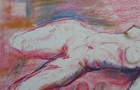 Petra-Traenkner-Erotic-motifs-Female-nudes