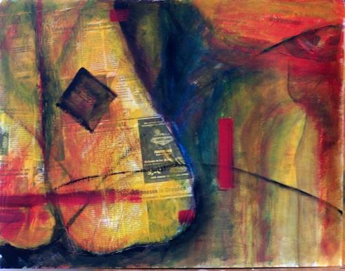 Petra Tränkner, Angezogen, Abstract art, Abstract Art