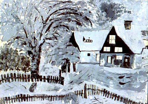Michael Thomas Sachs, Winter, Poetry, Impressionism