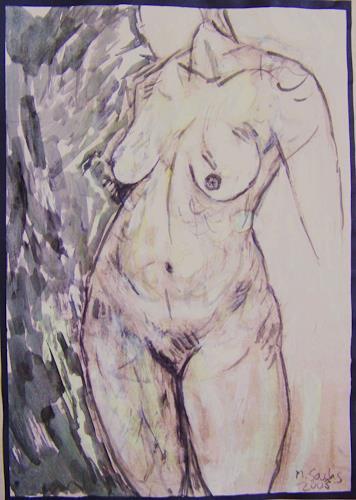 Michael Thomas Sachs, Frauenakt, Fantasy, Naturalism