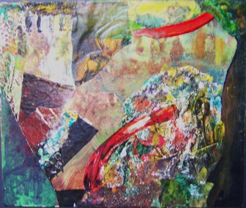 Michael Thomas Sachs, Fels - Landschaft, Abstract art, Abstract Art