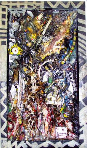 Michael Thomas Sachs, Komposition, Abstract art, Abstract Art