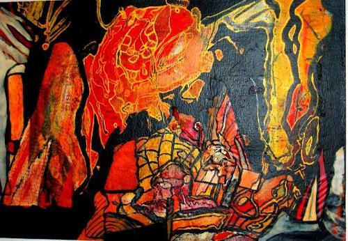 Michael Thomas Sachs, Landschaft, Fantasy, Abstract Art