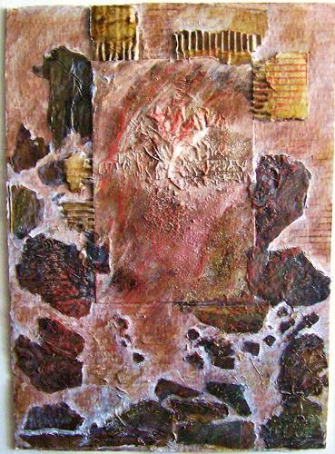 Michael Thomas Sachs, Landschaft, Abstract art, Decorative Art, Abstract Art