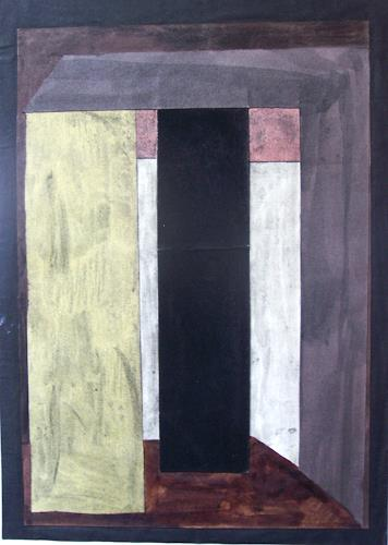 Michael Thomas Sachs, Raum- Komposition, Abstract art, Architecture, Abstract Art