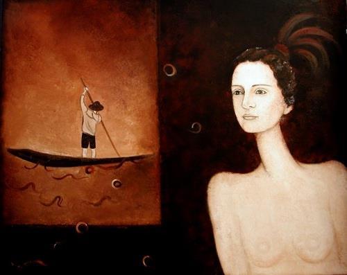 Branka Moser, ohne Titel, People: Women, Contemporary Art