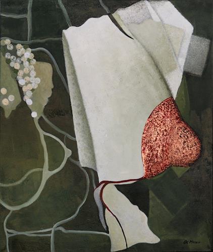 Branka Moser, ohne Titel 1213-2, Abstract art, Mythology, Contemporary Art, Expressionism