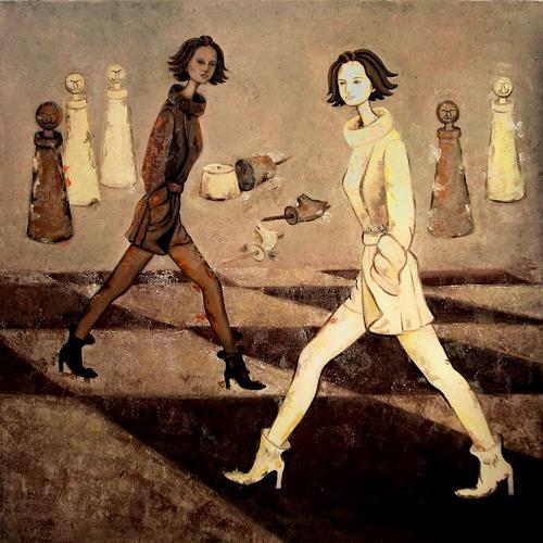 Branka Moser, ohne titel, People: Women, Contemporary Art, Expressionism
