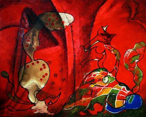 Branka Moser, Füchse, Miscellaneous, Contemporary Art