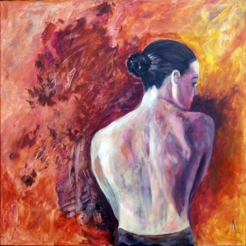 Anna Fennen, Akt 1, Erotic motifs: Female nudes