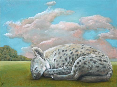 Hinrich van Hülsen, Viel zu lange geblieben, Landscapes: Plains, Animals: Land