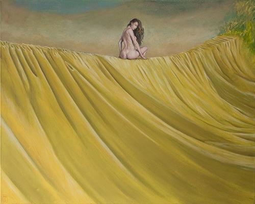 Hinrich van Hülsen, Und wann das nächste Mal nicht?, Erotic motifs: Female nudes, Fantasy, Realism