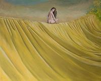 Hinrich-van-Huelsen-Erotic-motifs-Female-nudes-Fantasy-Modern-Times-Realism