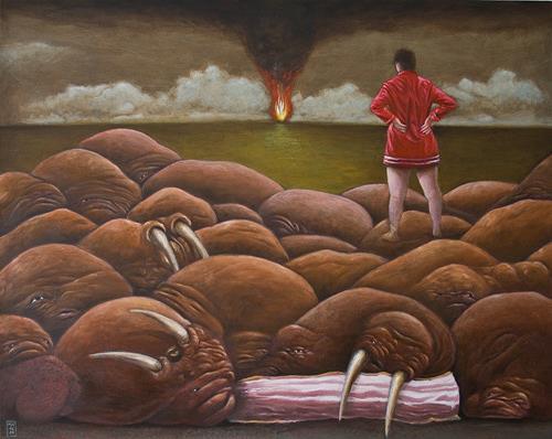 Hinrich van Hülsen, Da!, Fantasy, Animals: Water, Post-Surrealism