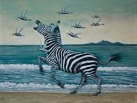Hinrich-van-Huelsen-Animals-Land-Landscapes-Sea-Ocean-Contemporary-Art-Post-Surrealism