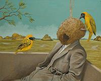 Hinrich-van-Huelsen-People-Men-Animals-Air-Contemporary-Art-Post-Surrealism