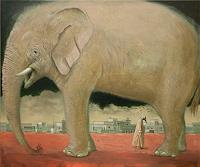 Hinrich-van-Huelsen-Animals-Land-Burlesque-Contemporary-Art-Post-Surrealism