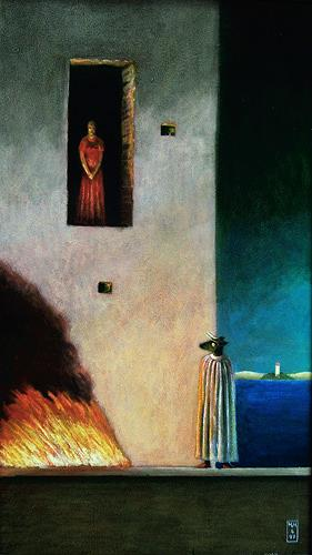 Hinrich van Hülsen, Ist das Dein Tee in der Küche?, Mythology, Fantasy, Post-Surrealism