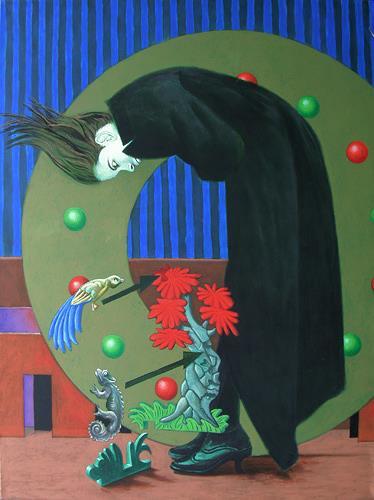 Hinrich van Hülsen, Alle Anschlüsse auf einen Blick, People: Women, Fantasy, Post-Surrealism, Abstract Expressionism