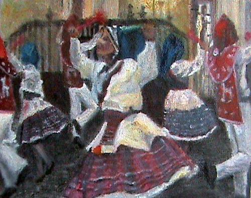 Aminta, Llamerada de Puno Matices Peruanos., Carnival, Expressive Realism, Expressionism