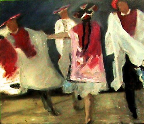 Aminta, Turkuy de Yanaoca  Cuzco Peru, History, Historism, Expressionism