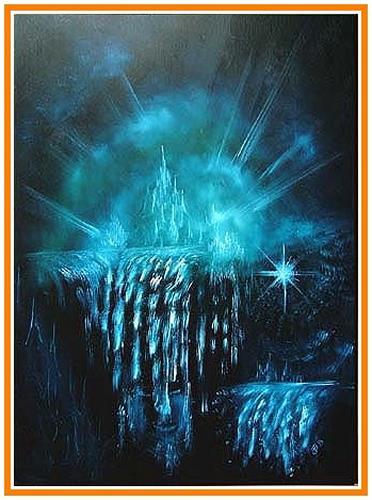 Josef Balek, fantasy II, Abstract art, Fantasy, Post-Surrealism