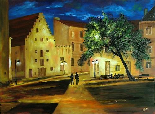 Josef Balek, Budweis, Architecture, Architecture, Land-Art, Expressionism