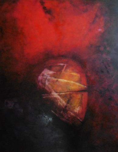 dorota zlatohlávková, Ohne Titel 1., Abstract art, Colour Field Painting, Expressionism