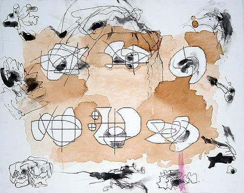 Reiner Poser, Its Teatime, Abstract art, Contemporary Art