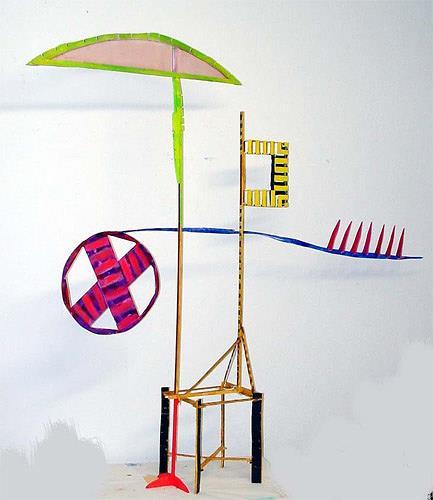 Reiner Poser, WEGZEICHEN, Abstract art, Burlesque, Pop-Art