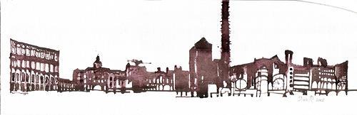 Reiner Poser, Alte Fabrik, Architecture, Neo-Expressionism