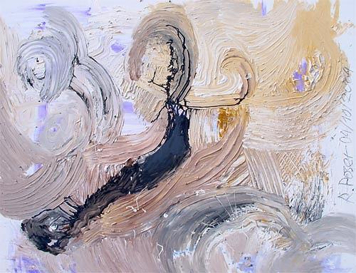 Reiner Poser, Auf dem Weg nach Mekka II, Landscapes: Plains, Arte Cifra