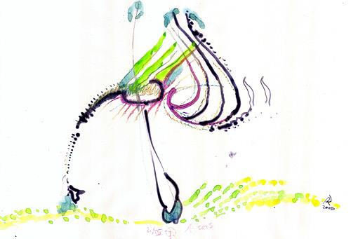 Reiner Poser, La Fantasia, Abstract art, Contemporary Art
