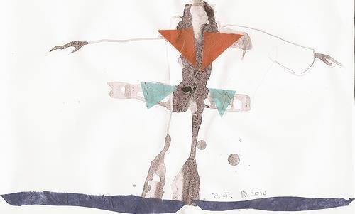 Reiner Poser, Der Gute-Laune-Flug, Abstract art, Pluralism