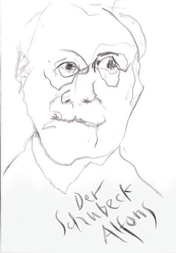 Reiner Poser, Schubeck, der Feinschmecker, People: Men, Arte Cifra
