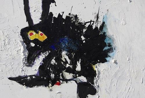 Reiner Poser, Fliegenklatsche, Abstract art, Contemporary Art