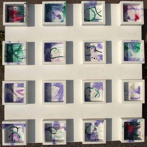 Reiner Poser, Das quadratische Karussell, Abstract art, Contemporary Art
