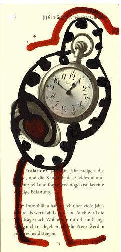 Reiner Poser, Time is running, Decorative Art, Arte Cifra