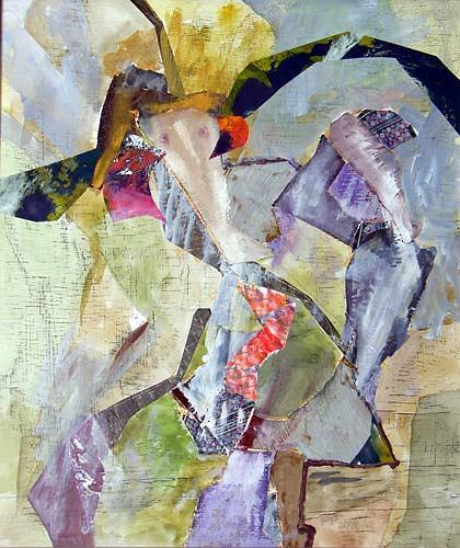 Reiner Poser, Die Gespielin, Fantasy, Arte Cifra, Expressionism
