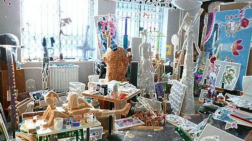 Reiner Poser, Ateliersilvester 2010, The world of work, Contemporary Art