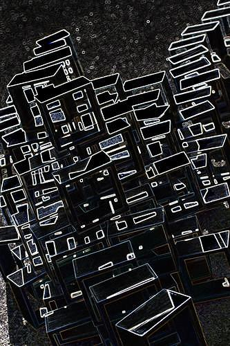 Reiner Poser, Urbano City, Abstract art, Conceptual Art