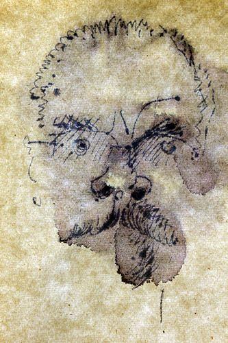 Reiner Poser, Self-Porträt, People: Faces, Spurensicherung