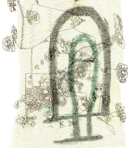 Reiner Poser, Das Tor zu einer neuen Welt, Abstract art