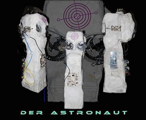 Reiner Poser, DER ASTRONAUT, Abstract art, Contemporary Art